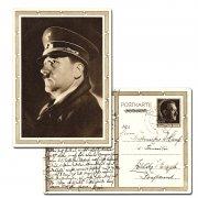 德国二战邮资片 希特勒肖